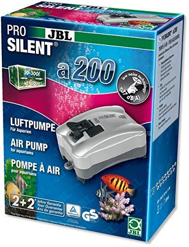 JBL ProSilent a200, 6054200, Luftpumpe für Süß- und Meerwasseraquarien von 50 - 300 L