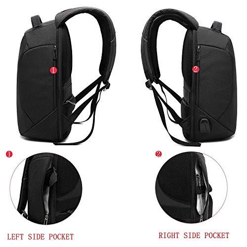 Antirrobo Seguridad Mochila portatil 15.6 Pulgadas...