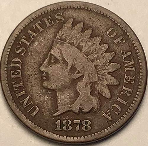 1878 Indian head Penny Very Good