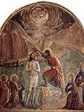 Lais Puzzle Ciclo de Frescos de Fra Angelico en el monasterio dominicano de San Marco en Florencia, Bautismo de Cristo por Juan 200 Piezas