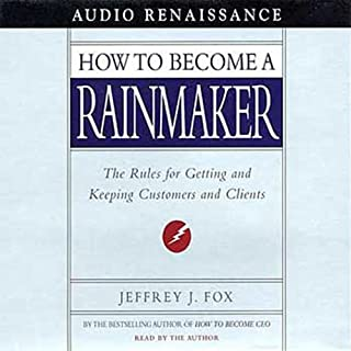 How to Become a Rainmaker audiobook cover art