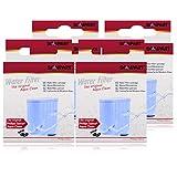 4 filtros de agua Scanpart para Saeco Xelsis Incanto Intelia Exprelia Pico Gran Baristo.