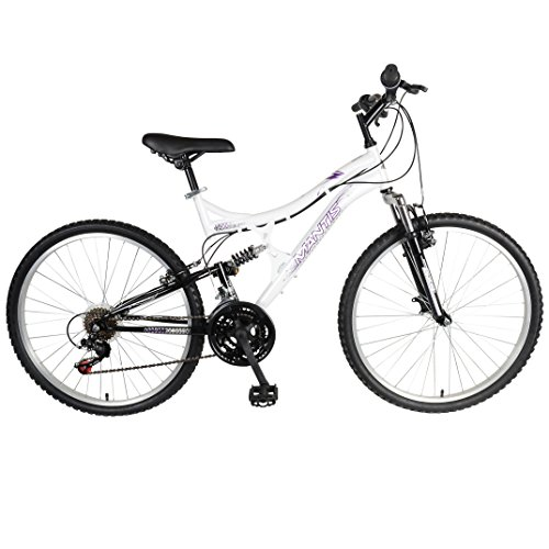 Mantis Orchid Full Suspension Mountain Bike, 26 inch Wheels, 17 inch...