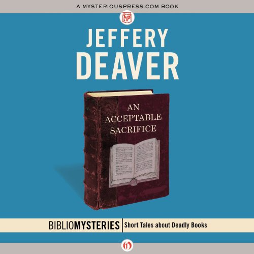 An Acceptable Sacrifice audiobook cover art