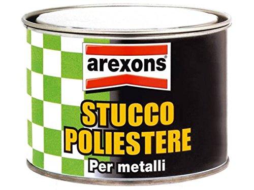 Stucco Poliestere Per Metalli Sigilla Ripara Acciaio Ghisa Vetroresina Plastica