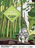 Coloriages mystères Forêts du monde: 100 coloriages mystères