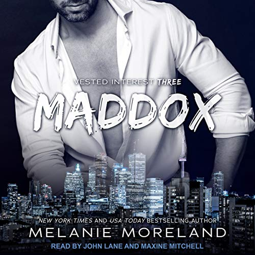 Maddox audiobook cover art