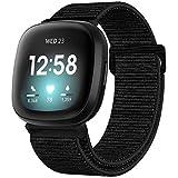 ANNYOO Compatible con Fitbit Versa 3, pulsera unisex
