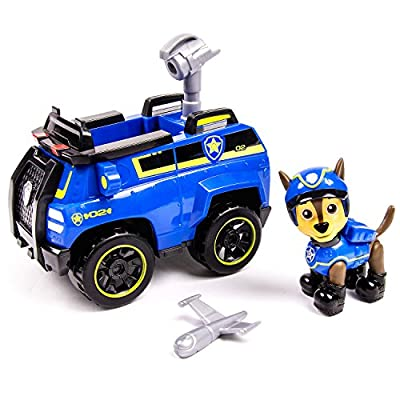 PAW PATROL 6026594 Chase's Spy Cruiser Vehicle and Figure