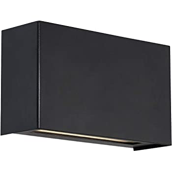VONN Atlas VMW14810BL 5 ADA Compliant Wall Sconce Lighting Fixture in Black Integrated LED 4.75L x 4.75D x 4.75H