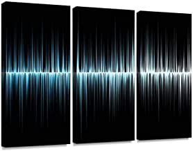YKing1 Sound Wave Sound Waves Stock Pictures Royalty Free Photos Images Wall Art Painting Pictures Print On Canvas Stretch...