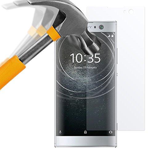 moodie Panzerglas Folie für Sony Xperia XA2 - Premium Glasfolie 9H Panzerglasfolie für Sony Xperia XA2