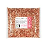 2KG   Pink Himalayan Rock Salt   Food Grade - COARSE   Organic   Pure Natural Unrefined Rose Food Salt for Table or Bath