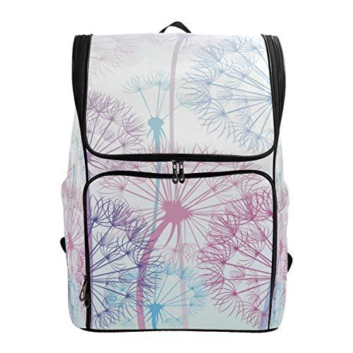 Ahomy Schulrucksack, Pusteblume groß wasserdicht Tagesrucksack Computer Notebook Rucksack für Arbeit College