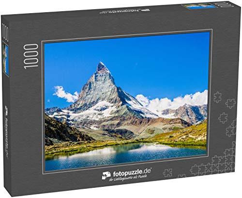 Puzzle 1000 Teile Matterhorn - Klassische Puzzle, 1000 / 200 / 2000 Teile, edle Motiv-Schachtel, Fotopuzzle-Kollektion 'Bekannte Berge'