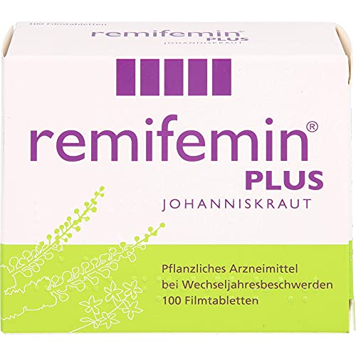 remifemin plus Johanniskraut Filmtabletten, 100 St. Tabletten