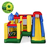 Best Bounce Houses - Giantex Mighty Inflatable Bounce House Castle Jumper Moonwalk Review