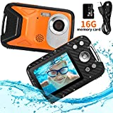 "Best Underwater Cameras - Pellor Waterproof Digital Camera for Snorkeling 2.8"" FHD Review"