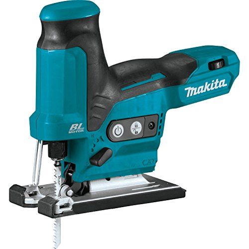 Makita VJ05Z 12V max CXT Lithium-Ion Brushless Cordless Barrel Grip Jig Saw, Tool Only