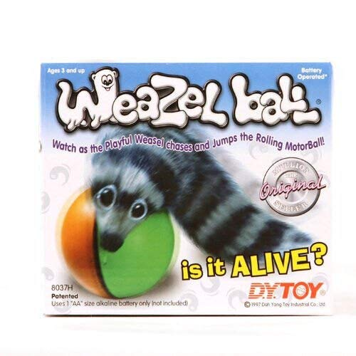 D.Y. Toy 8038H Weazel Ball Motorised Ball + Weasel (Assorted Colors)