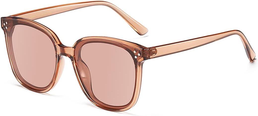 FSCLJ Gafas de Sol polarizadas para Mujer Gafas de Sol Creativas para uñas M Gafas de Sol polarizadas Vintage Gafas de protección UV400 Marco de PC para Conducir Viajar