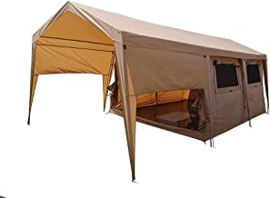 Dream House Double Layers Waterproof Safari Glamping Tent Campsite Hotel Family Camping Lodge Tent