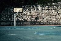 APAN10x7ft旧バスケットボールコート背景屋内バスケットボールのフィールドの写真の背景NBAテーマスポーツパーティーキッドマンスポーツクラブマン学生芸術ポートレート写真撮影の小道具