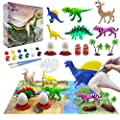 Kids Dinosaur Painting Kit with Play Mat, Animal Crafts and…