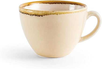 Preisvergleich für Olympia Ofen Cappuccino Tasse Sandstein