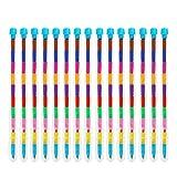 THE TWIDDLERS 36 lápices de Punta Intercambiable - 11 Colores Distintos - Ideales como Detalles de Fiesta, Rellenos para Bolsas de Fiesta, Cajas de sorpresas, Rellenos de Calcetines navideños