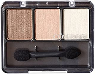 (3 Pack) COVERGIRL Eye Enhancers 3-Kit Shadows - Cafe Au Lait 105 (並行輸入品)