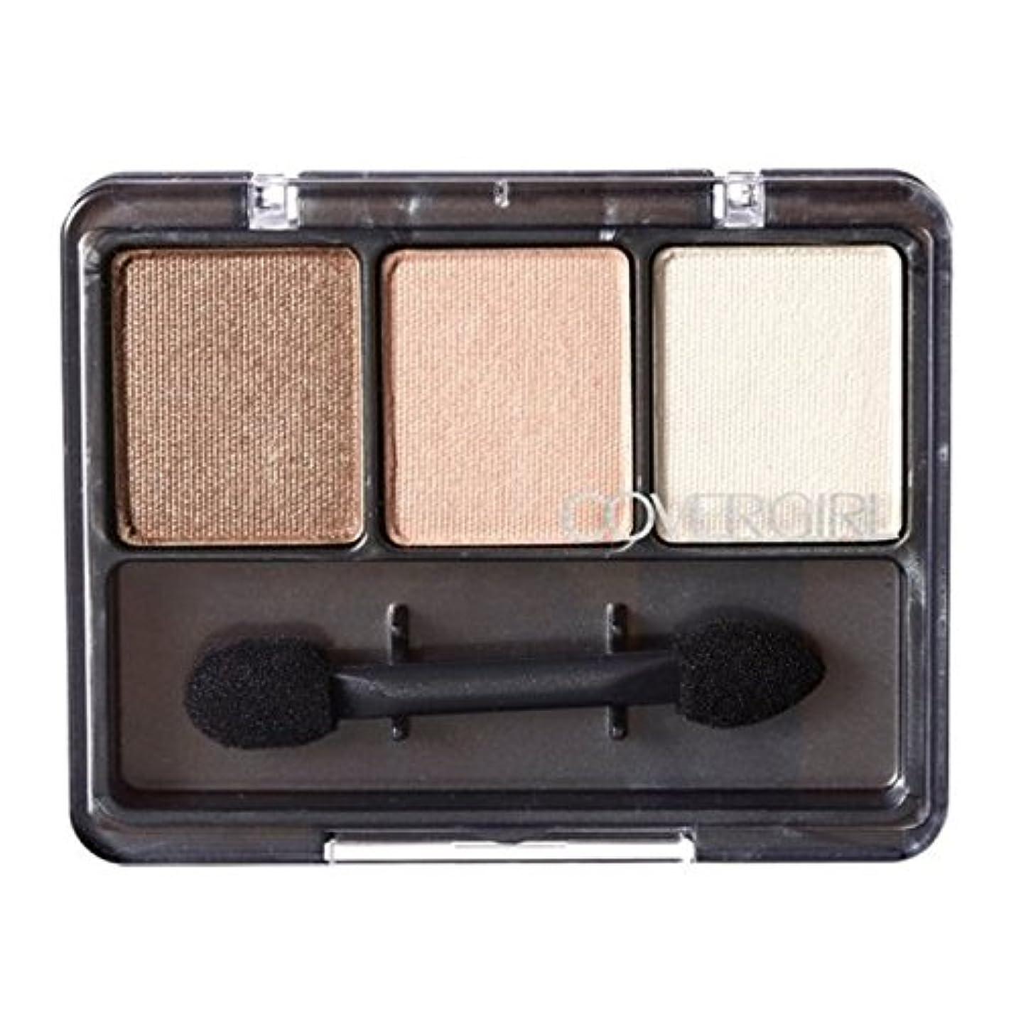 ハプニング障害アルミニウム(3 Pack) COVERGIRL Eye Enhancers 3-Kit Shadows - Cafe Au Lait 105 (並行輸入品)