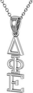 King Greek Delta Phi Epsilon Necklace 18