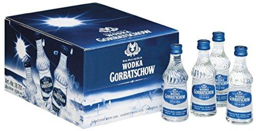 Gorbatschow - Wodka 37,5{1dcf93b61cd41be4296ab33d3d16109cd0d2289bdd44890bef1669033168c7d3} - 20x0,04l