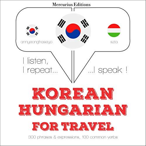 Korean – Hungarian. For travel cover art