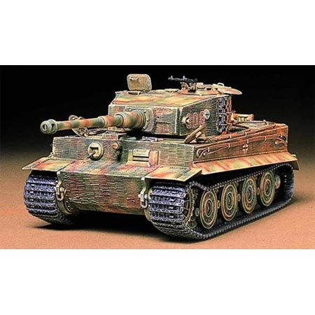 TAMIYA 300035146 - 1:35 WWII Sonderkraftfahrzeug 181 Panzerkampfwagen VI Tiger I E