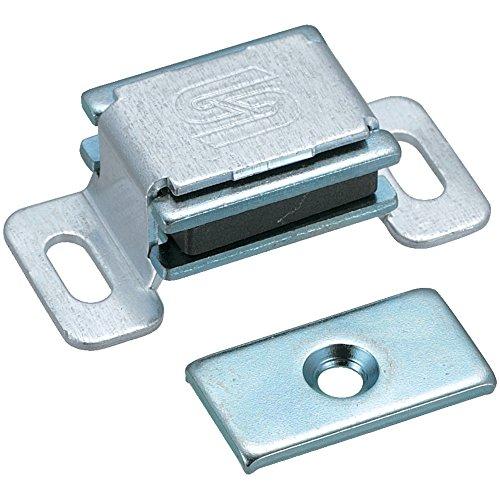 トラスコ TRUSCO マグネットキャッチアルミ製 取付穴寸法3.7×8.5mm TSM40_6600