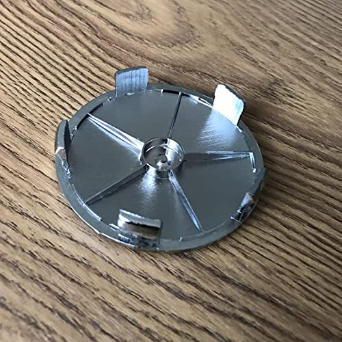 JUULLN Cubierta Central 20 unids/Lote 68mm 5Pins Fibra de Carbono Azul/Blanco Negro/Blanco Centro de Rueda de automóvil Caps Capts Funda Emblema Insignia para E34 E46 x3 x5 M3 M5 Tapacubos