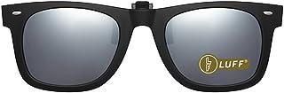 Polarization Clip on Sunglasses Unisex-Elegant&Comfortable Clips Flip up Myopic Sunglasses for Outdoor/Driving/Fishing