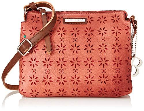 Bulaggi Chayenne Crossover - Borse a tracolla Donna, Rosso (Rot), 6x18x22 cm (B x H T)