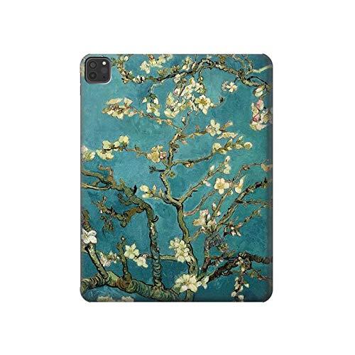 Innovedesire Blossoming Almond Tree Van Gogh Tablet Funda Carcasa Case para iPad Pro 11 (2018,2020), iPad Air 4 (2020), iPad Air (2020)