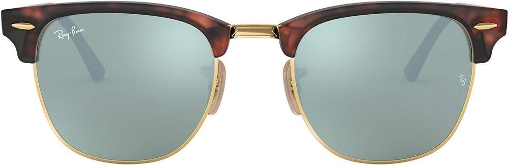 Ray-ban clubmaster, occhiali da sole da donna 0RB3016A
