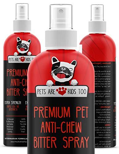 Anti Chew Dog Training Spray: No Chew Bitter Spray and Pet Deterrent
