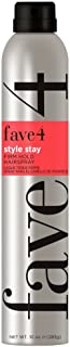 fave4 hair Style Stay Firm Hold Hairspray, 10 oz