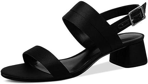 JIANXIN Les Les Les Sandales De Printemps Et D'été pour Femme avec Une Boucle à Boucle Et Une Paire De Sandales Peep-Toe. (Taille   EU 39 US 8 UK 6 JP 25cm) d81