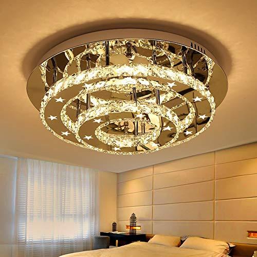 Plafondlamp Creative met afstandsbediening kristal moderne lampen persoonlijkheid warme romantische woonkamer plafondlamp voor slaapkamer eetkamer gang