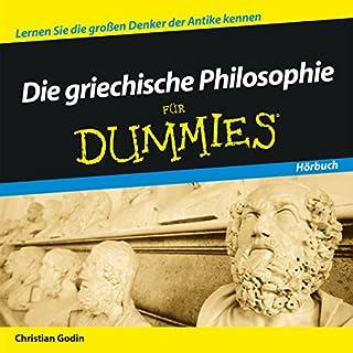 Die griechische Philosophie für Dummies Titelbild