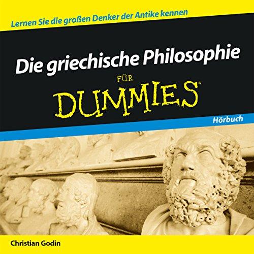 Die griechische Philosophie für Dummies cover art