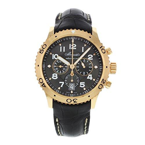 Breguet Transatlantique Type XXI Flyback Chronograph Rose Gold Mens Watch 3810BR929ZU
