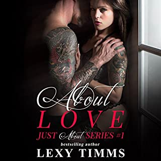 About Love audiobook cover art